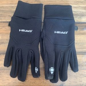 head gloves with touchscreen technology